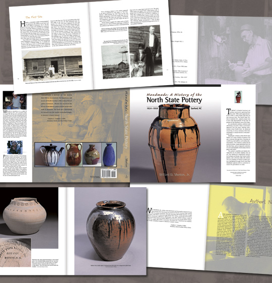 North State Pottery collage